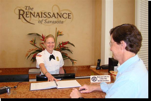 The Renaissance Concierge Desk