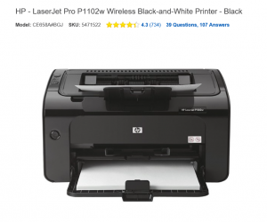 HP Printer Example