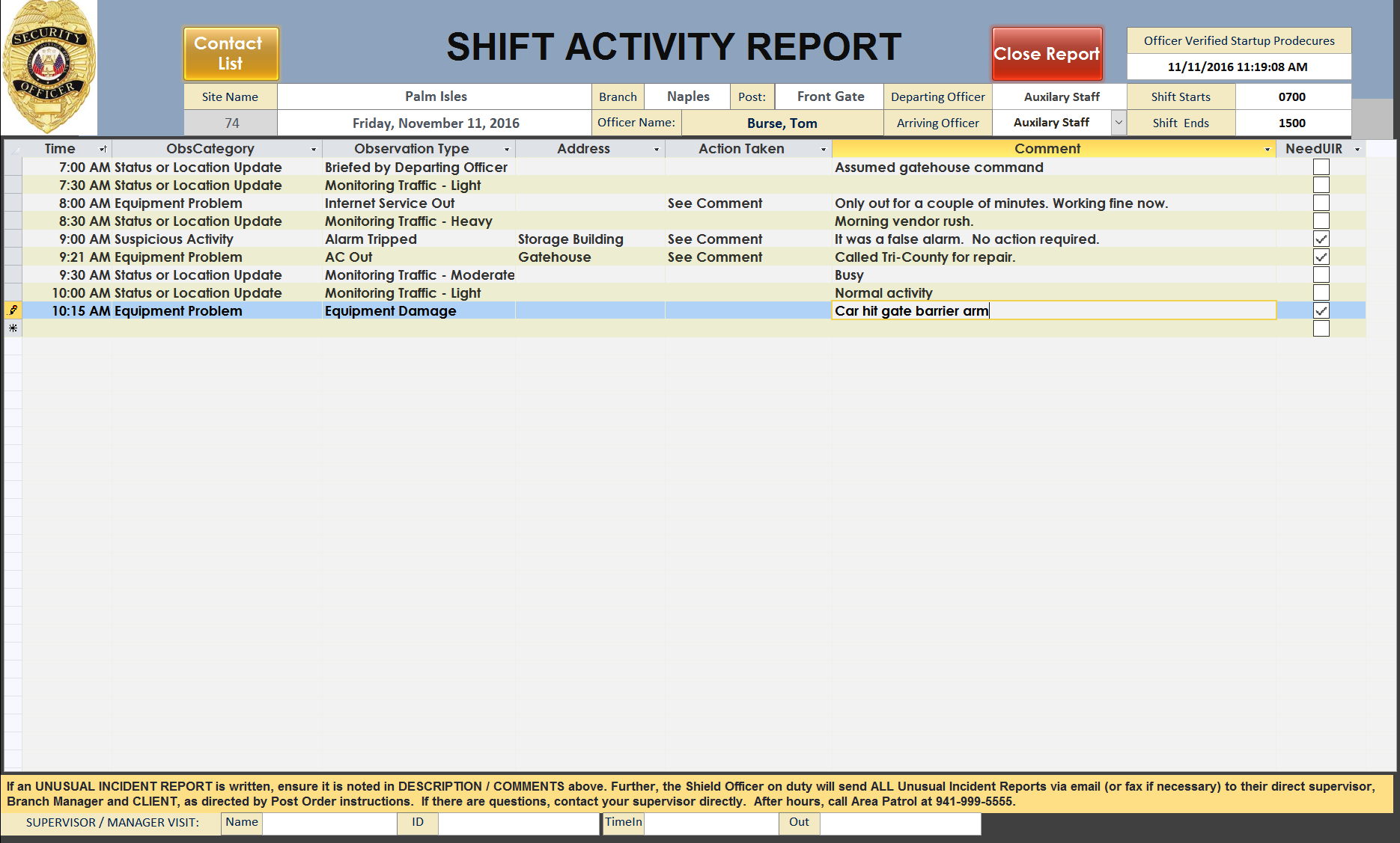 electronic shift reporting southworth solutions electronic shift reporting
