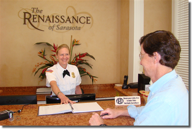 The Renaissance Concierge Desk